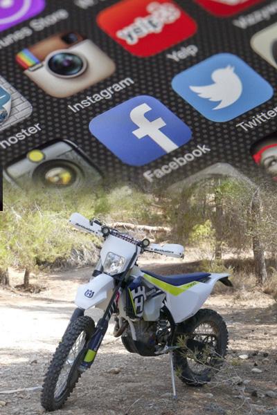 איתמר ציפורי - על הרשתות החברתיות והאנדורו